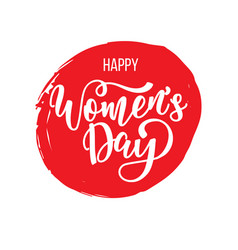 Postcard to march 8 international womens day vector