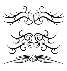 Tribal background design vector