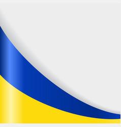 Ukrainian flag background vector