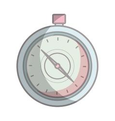 Compass route device icon vector