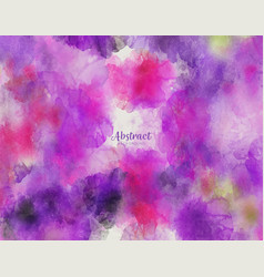 abstract purple watercolor texture pattern vector image