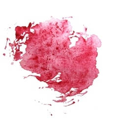 Abstract watercolor art hand paint vector