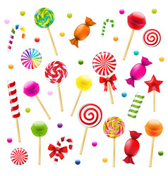 Big candy set vector