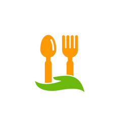 Care food logo icon design vector