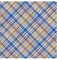 Fabric texture seamless tartan pattern background vector
