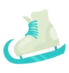 Figure skate icon cartoon style vector