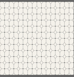 Geometric pattern of rhombuses vector