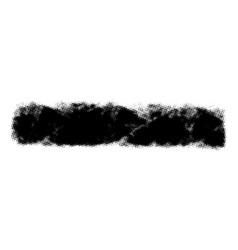 grunge halftone banner vector image