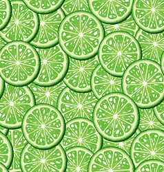 Limes seamless background vector