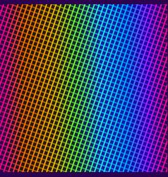 rainbow cloth texture vector image
