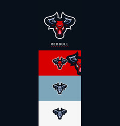 Red bull logo for your icon vector