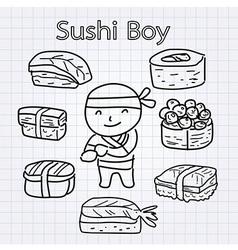 SushiBoy vector