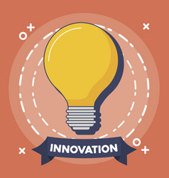 Technology and innovation design vector