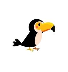 Toy toucan bird vector