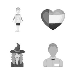 Trade magic and other monochrome icon in cartoon vector