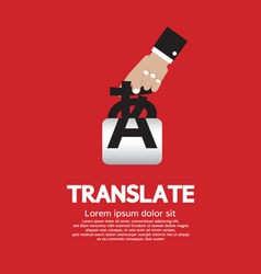 Translate Concept vector image