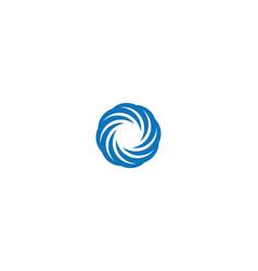 Vortex and spiral icon vector