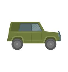 car flat vector image