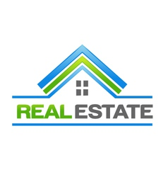 Real Estate House Logo vector image