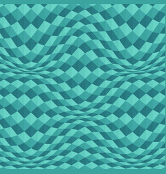 abstract of blue geometric wave background vector image