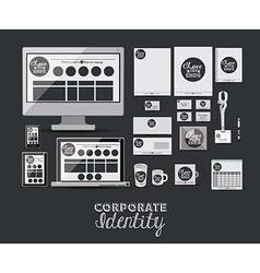 Corporate Identity design vector