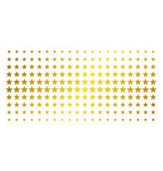 fireworks star golden halftone grid vector image