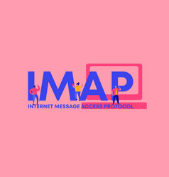 Imap internet message access protocol web vector