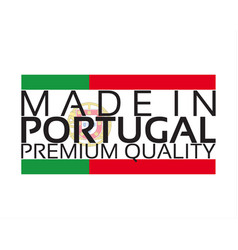 made in portugal icon premium quality sticker vector image
