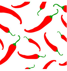 Red-chili-pattern vector