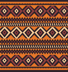 tribal ethnic colorful bohemian pattern vector image