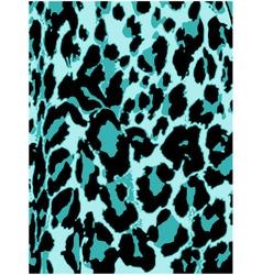 leopard pattern background vector image vector image