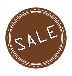 Sale Icon Badge Label or Sticke vector image vector image