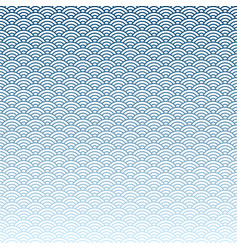 abstract blue wave pattern background vector image