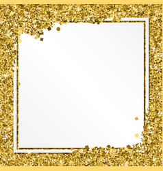 abstract modern gold banner templates vector image