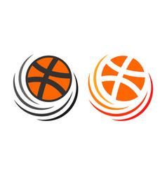 Basketball template design vector