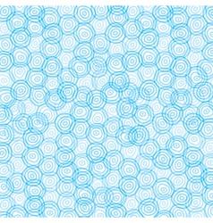 Blue swirl circle background vector