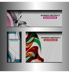 Business banner template vector