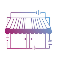 Contour delivery store service order vector