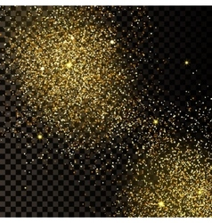 Gold background 4 vector image