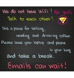 No WiFi vector