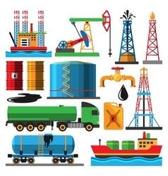 Oil extraction transportation vector