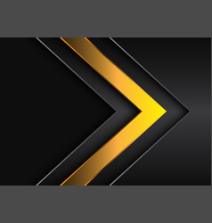 Red dark yellow arrow direction with grey blank vector
