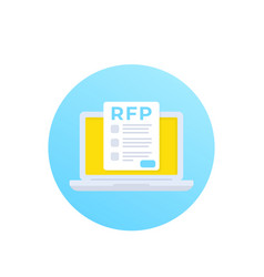 Rfp request for proposal vector