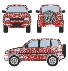 Safafi car vector image