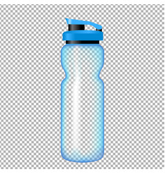 Sports bottle for water vector