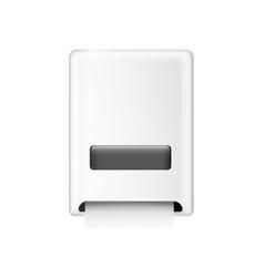 Towel dispenser vector