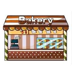 a bakery vector image