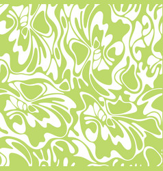 color seamless swirl olive background green vector image vector image