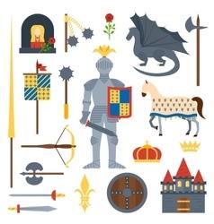 knight symbols vector image