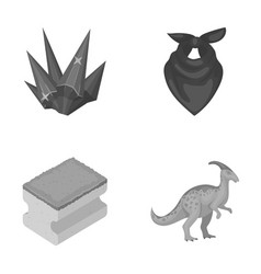 mine cleanliness and other monochrome icon in vector image